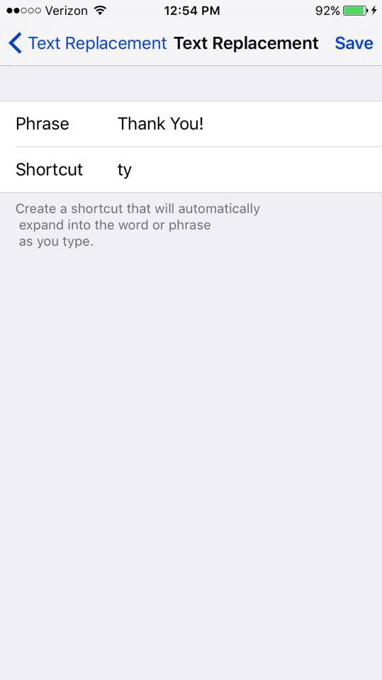 iPhone Tip