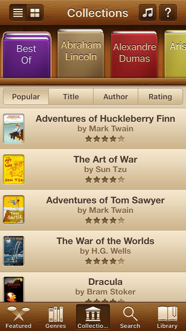 Free Books - Classics