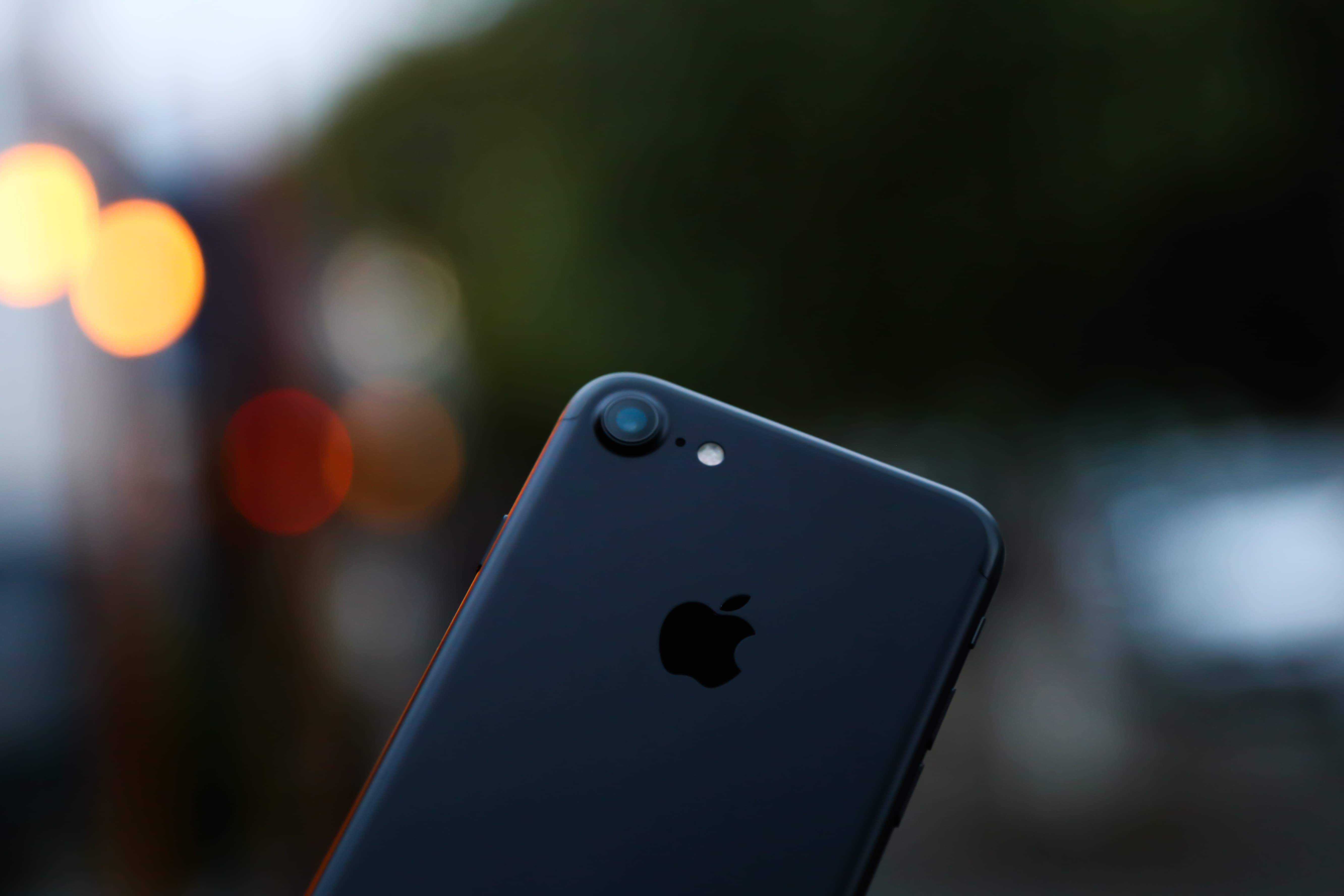 Here Is An iPhone