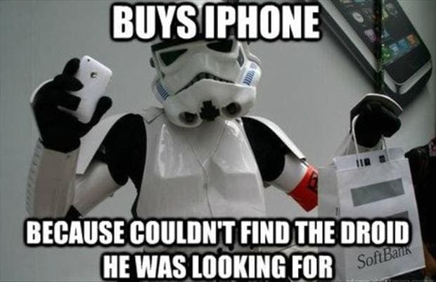 Wrong Droids