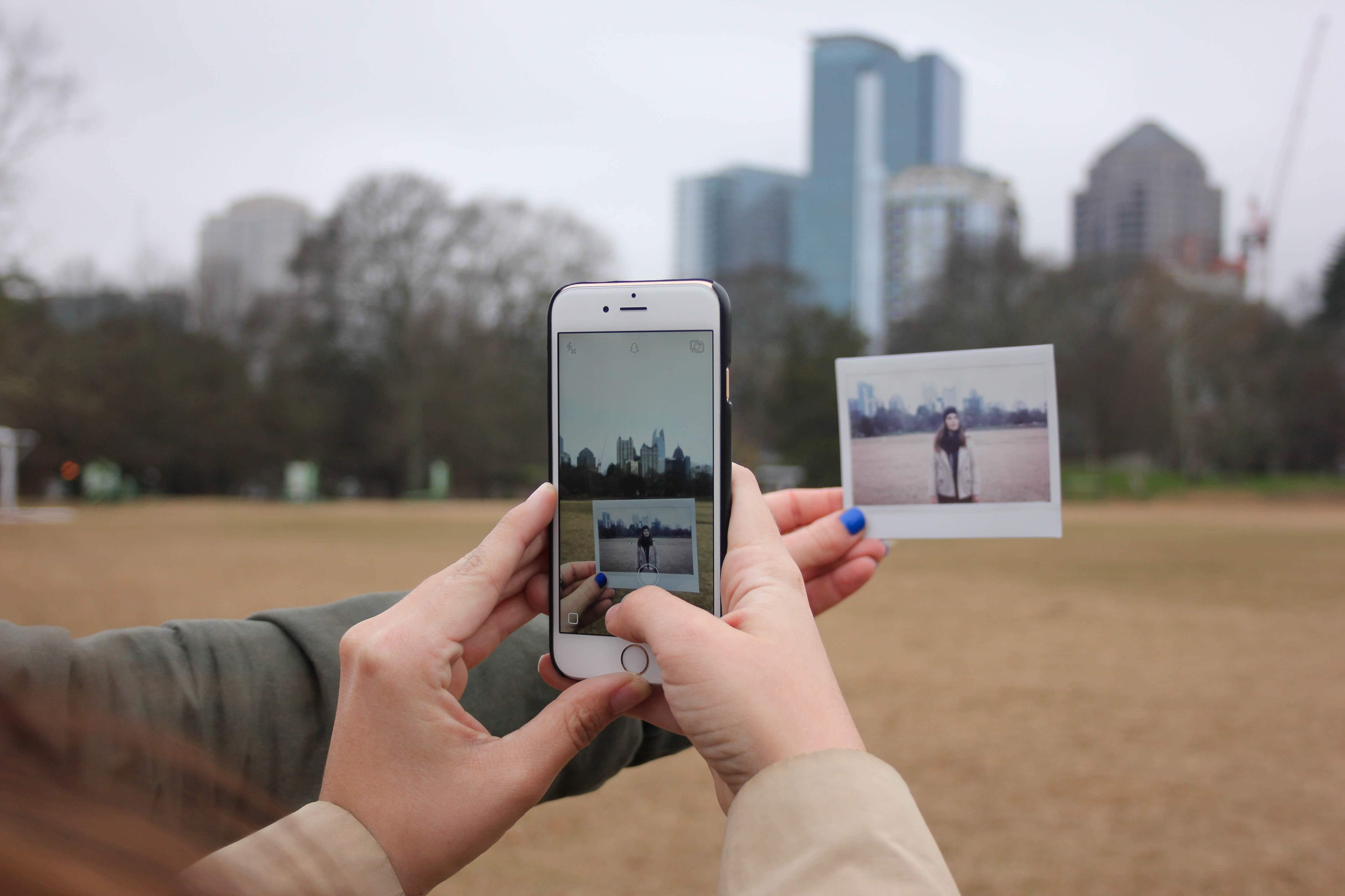 Phone Polaroid