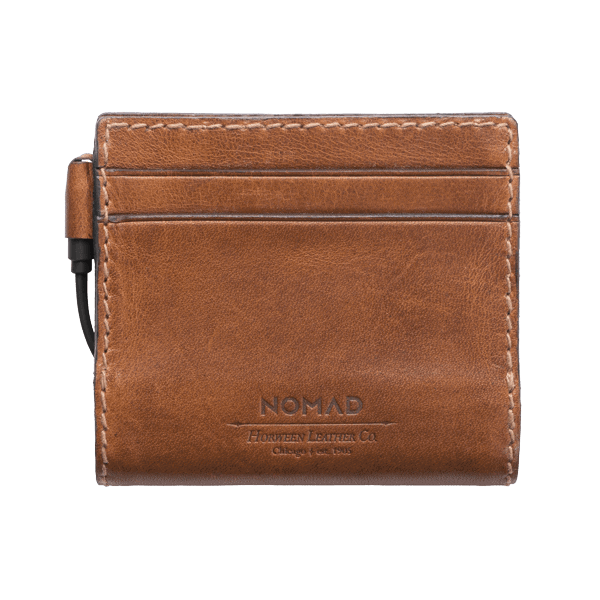 Nomad Leather Battery Wallet