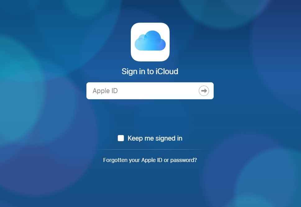 iCloud Transfer Contacts Sign In