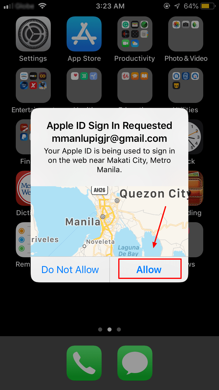Allow iCloud Transfer Contacts