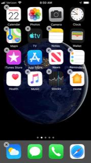 Uninstall App for Unresponsive iPhone Screen