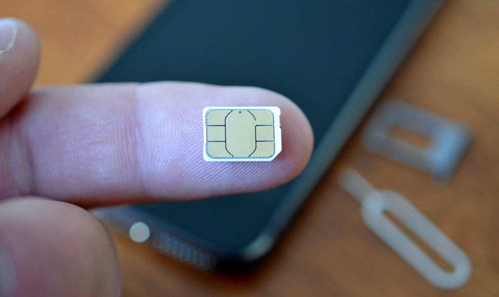 Change Out the SIM Card For Phone Number Transfer