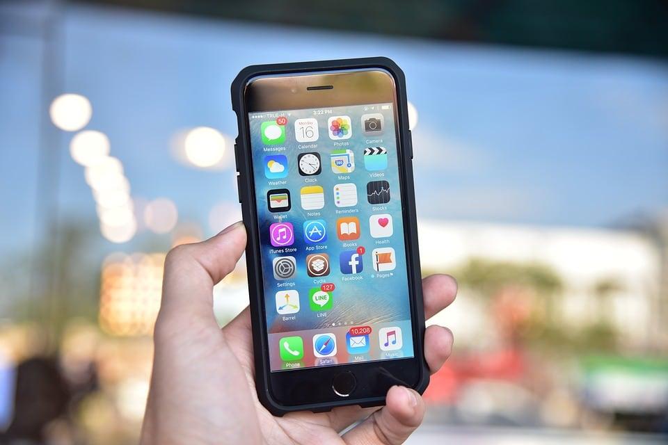 iPhone in a Case
