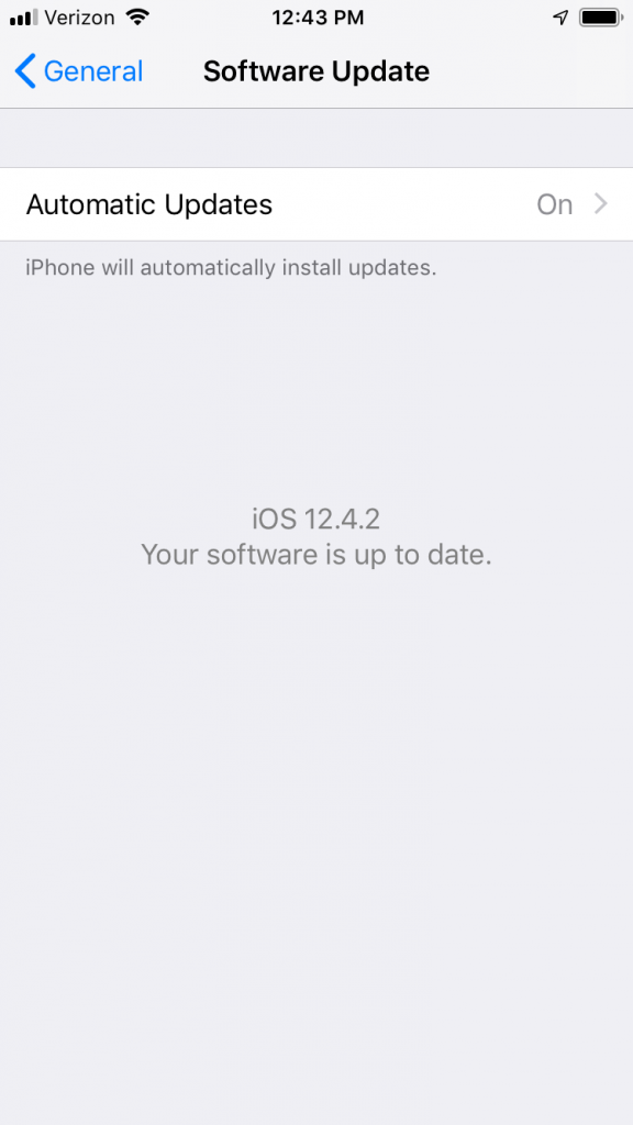Automatics Updates for Slow iPhone