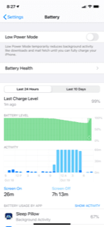 Check iPad Battery Usage for Fast Draining