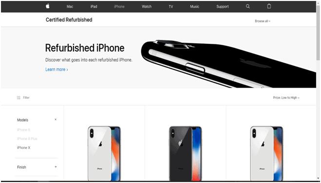 Used iPhone on Apple