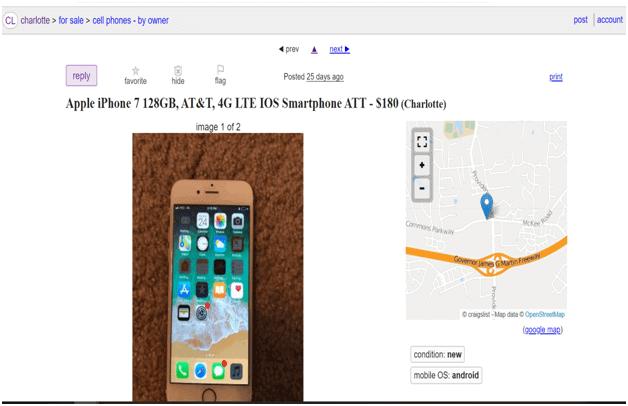 Buy Used iPhone on Craigslist