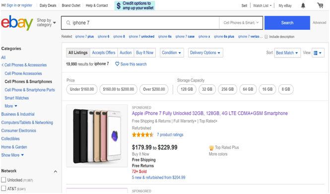 Buy Used iPhone on eBay