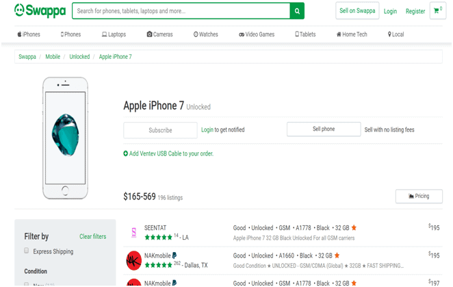 Buy Used iPhone on Swappa