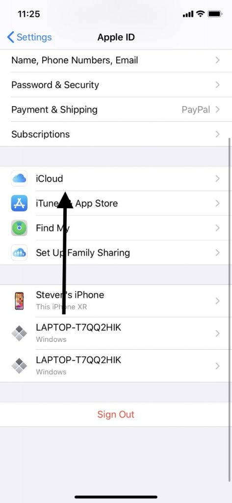 Back Up with iCloud Before iPad Factory Reset