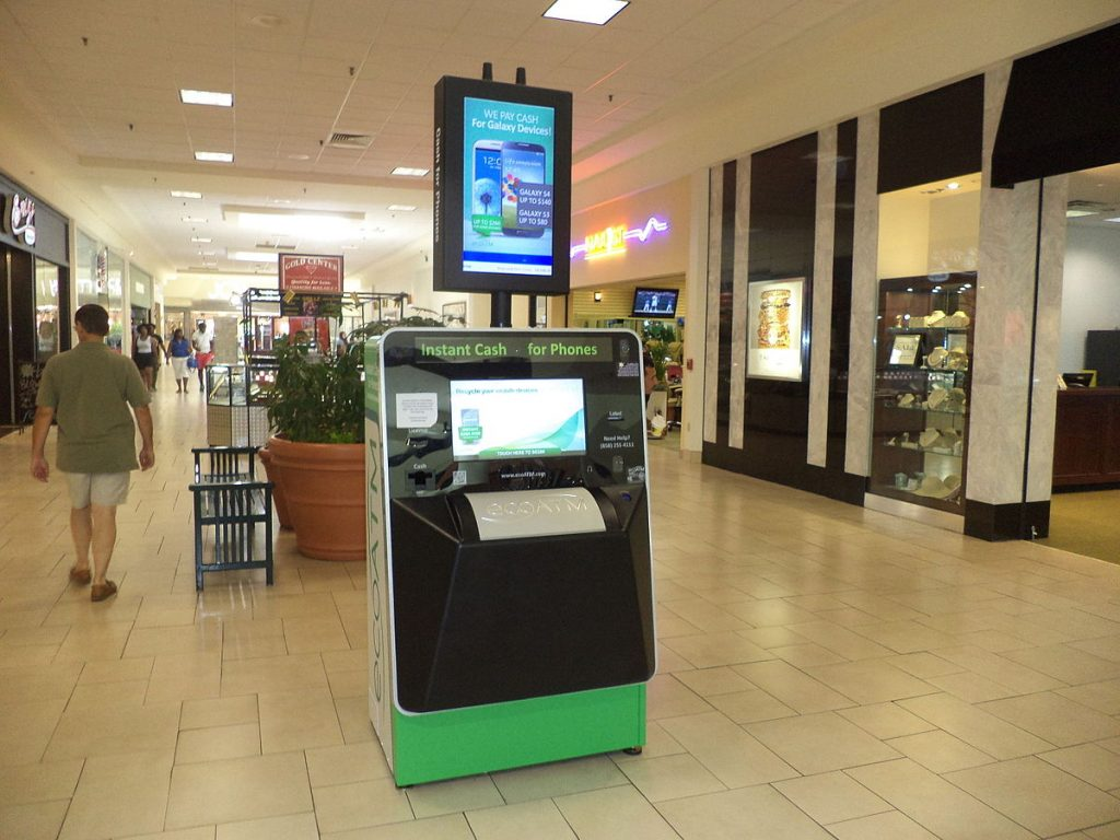 Trade in your phone at Eco ATM