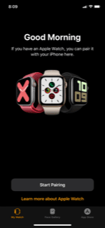 App for Apple Watch Pairing