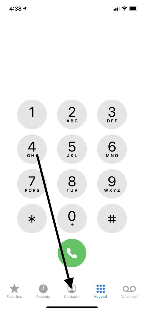 Add Country Code Number to Contact Names
