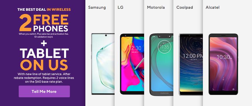 MetroPCS Phone Options
