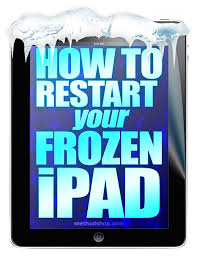 Restart for iPad Touch Screen Not Working