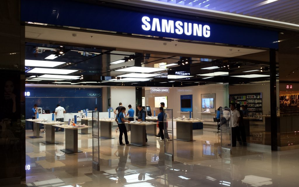 Samsung Store to Fix Galaxy Home Button