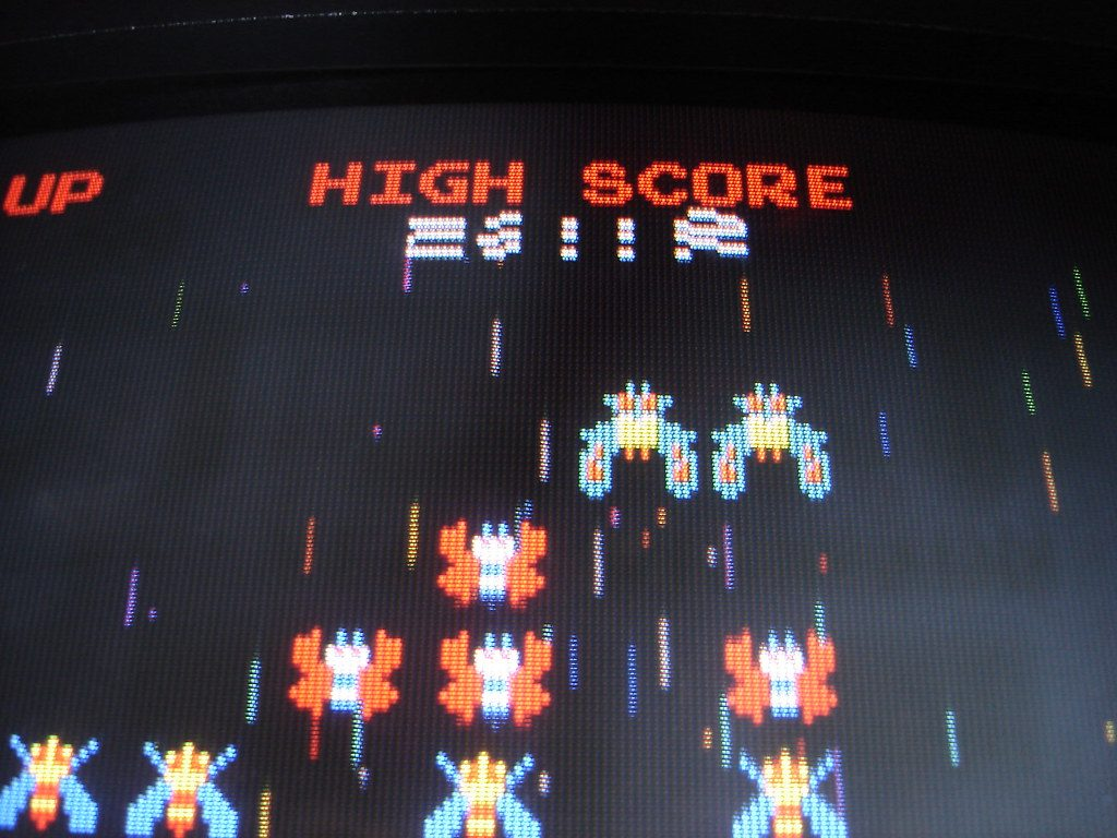Screenshot of Video Game High Score