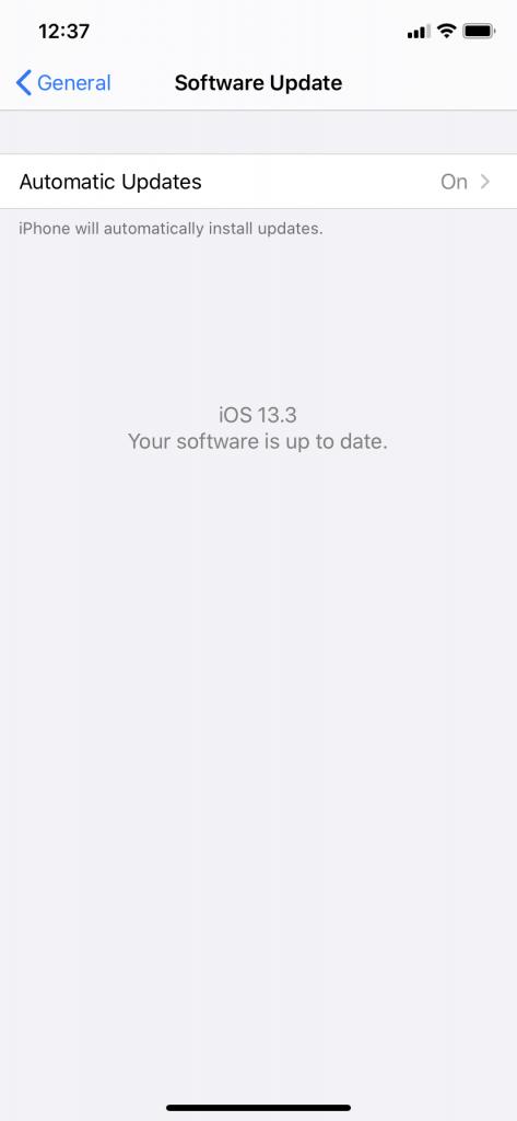 Software Update Before Pairing Apple Watch