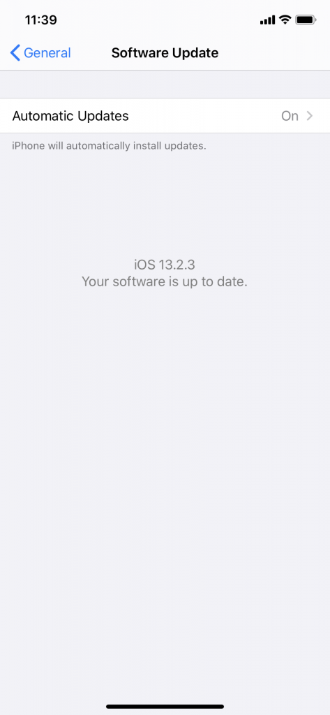Update to the Latest iOS