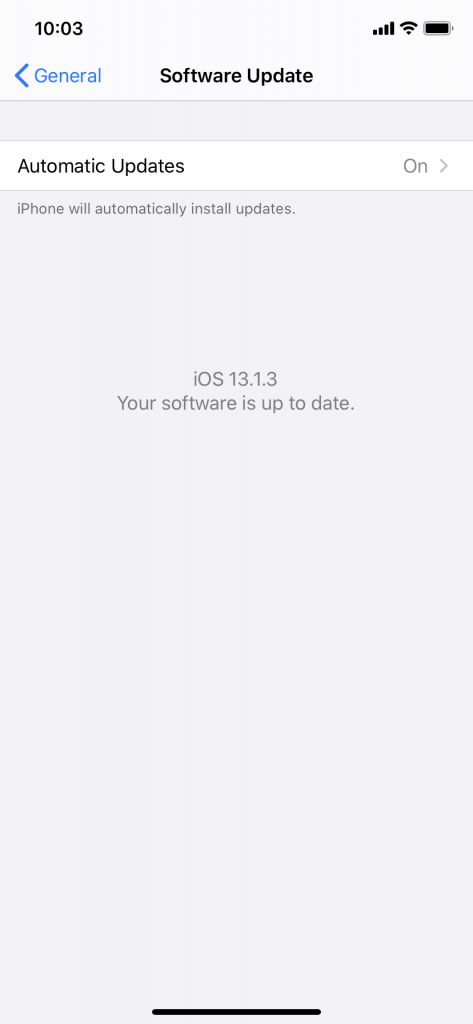 iOS Update if iMessage Activation Failed