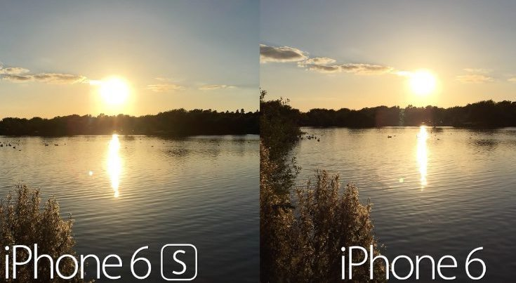 iPhone 6s vs iPhone 6 Camera