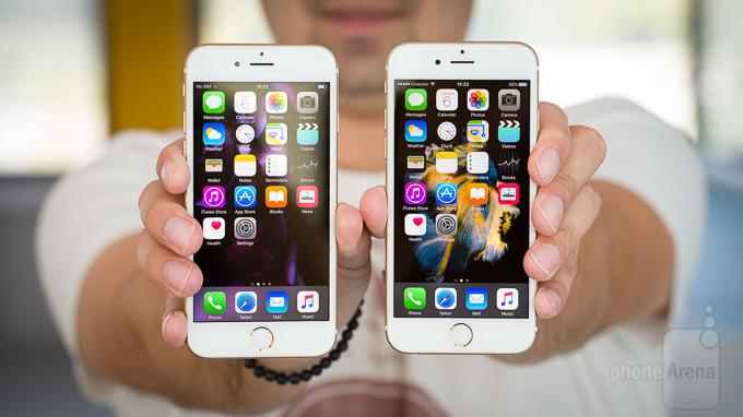 iPhone 6 vs iPhone 6s Display