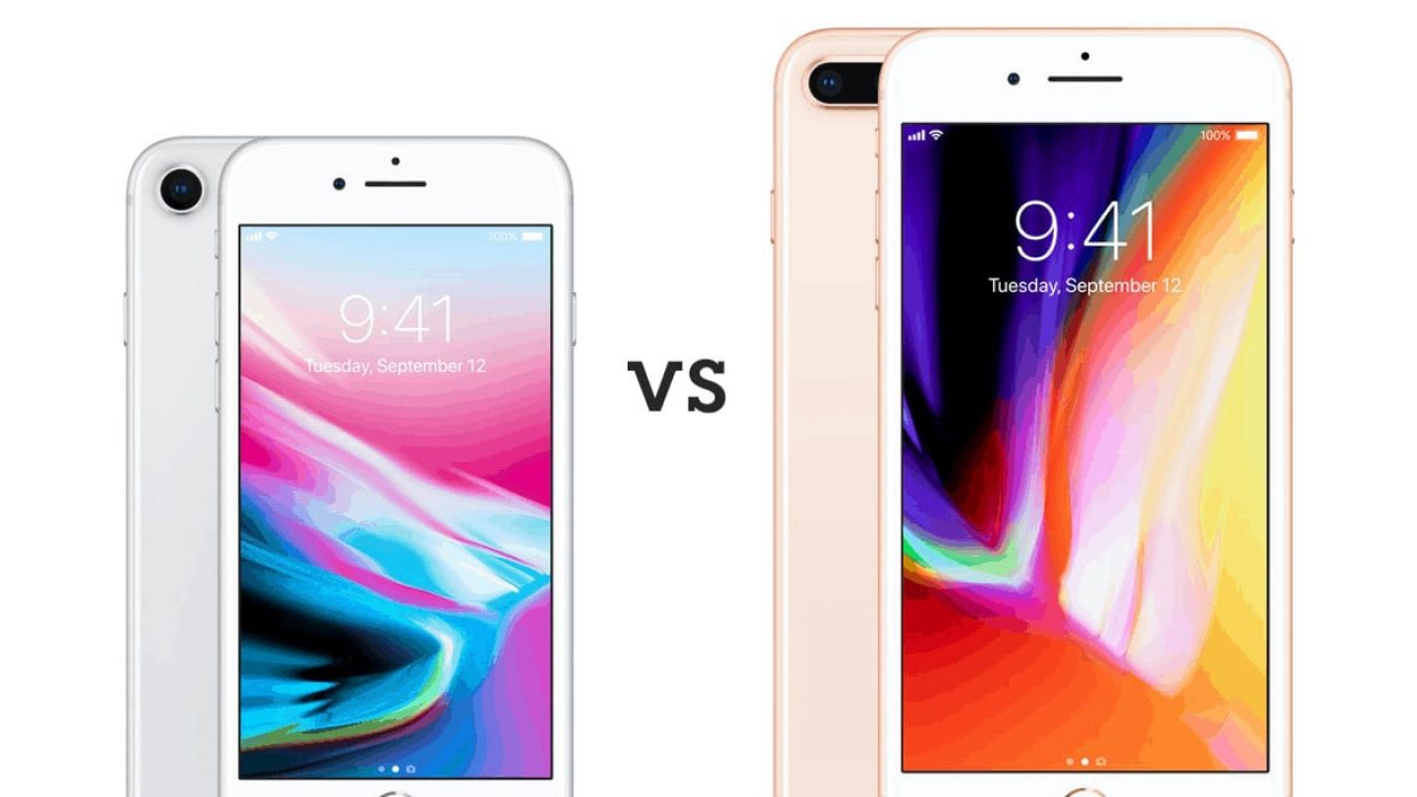 Differences Between the iPhone 8 And 8 Plus - Full Comparison