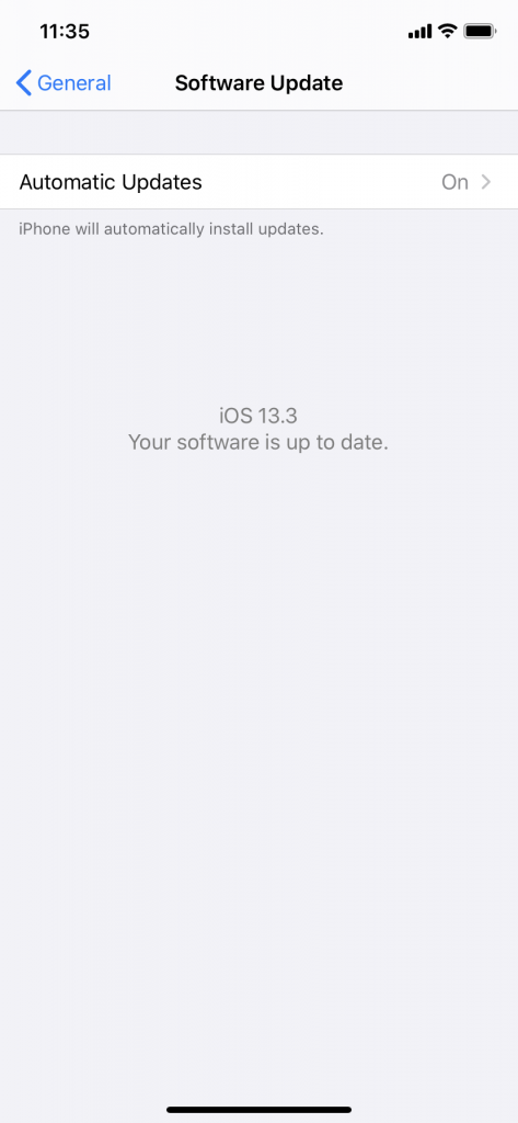 Check for iOS Updates During Restore
