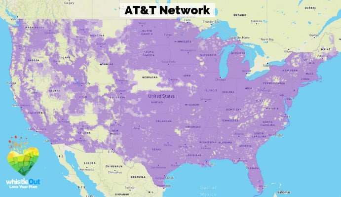 Cricket Uses AT&T's Coverage Network
