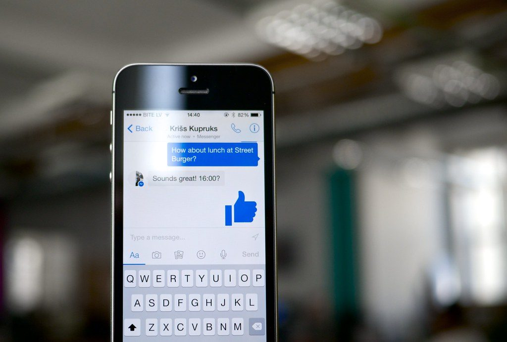 Facebook messenger Calling On Your iPhone