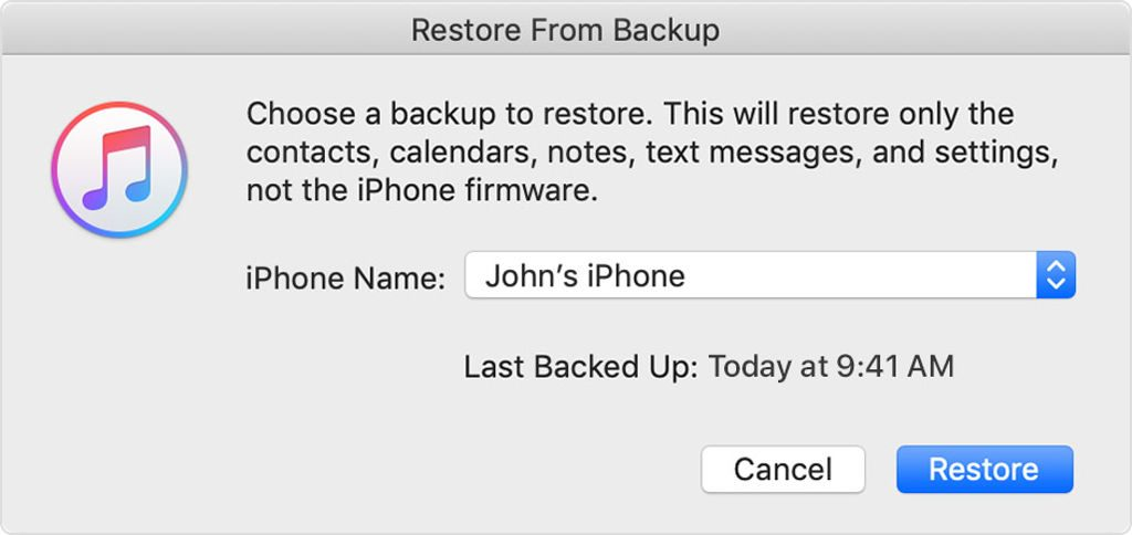 How to Restore iPhone Using iTunes