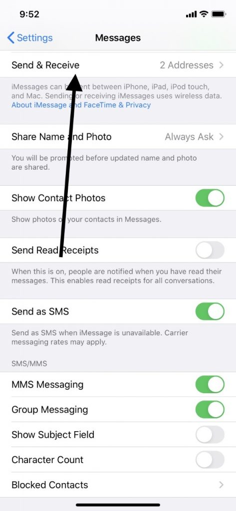 Is Send and Receive Enabled on Your Mac