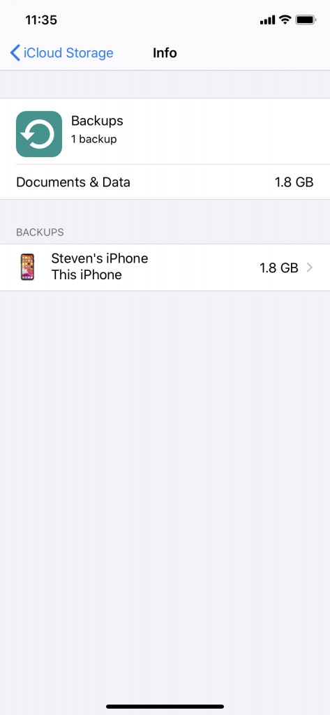 Restoring Your iPhone from an iCloud Backup