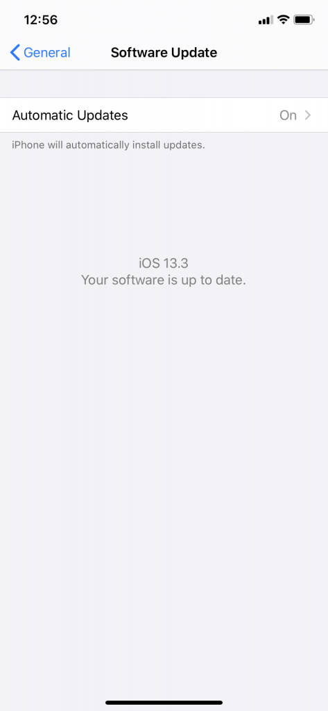 Set Up Automatic Updates for iOS