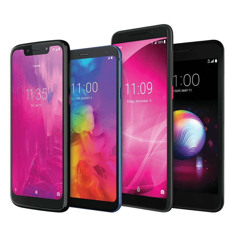 Smartphones Offered by T-Mobile