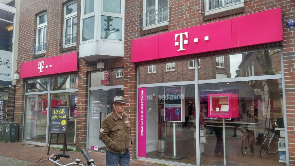 iPhone is available at T-Mobile Store