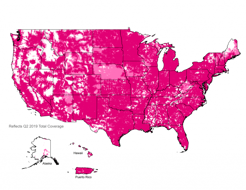 T-Mobile's 4G LTE Coverage Map