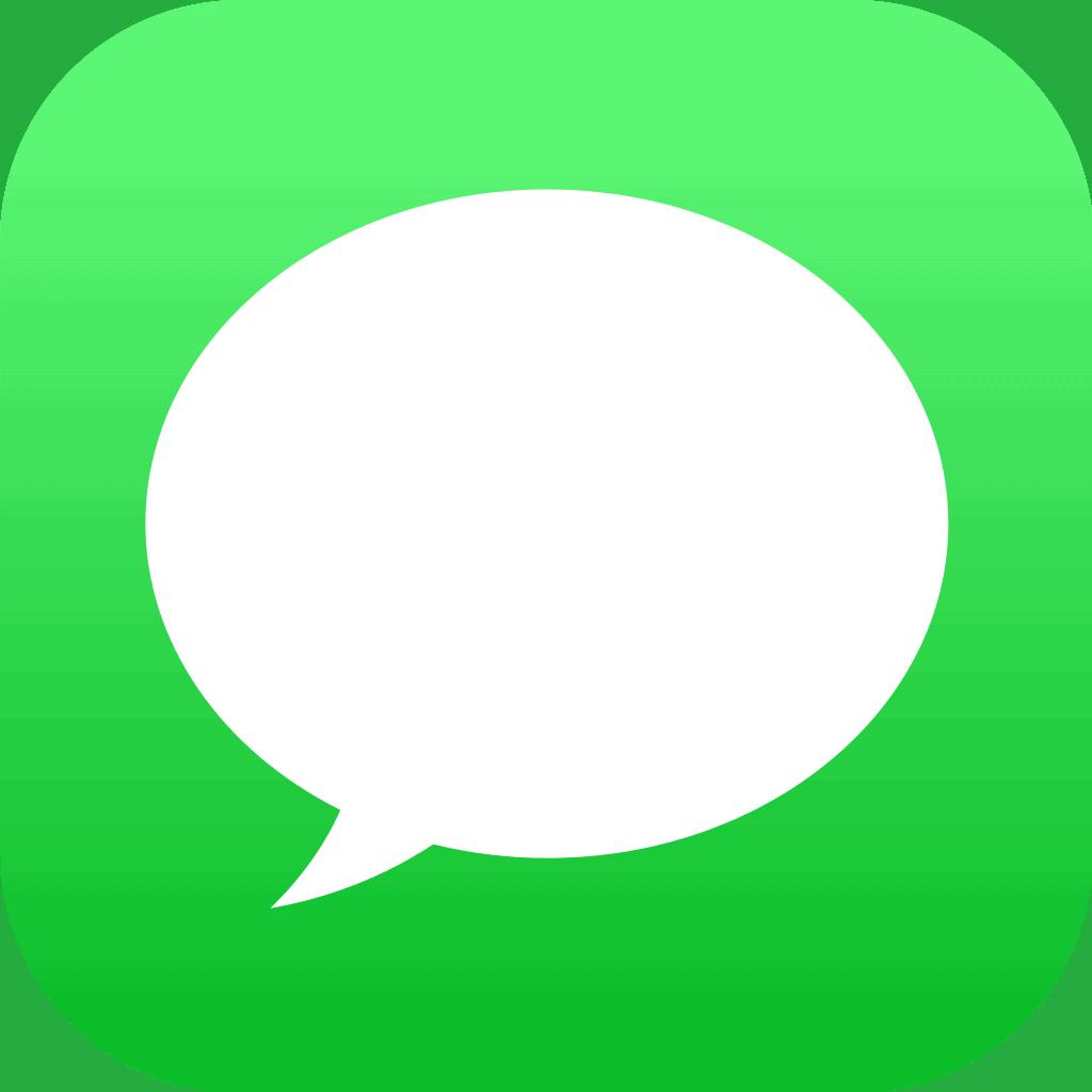 The iMessage Logo