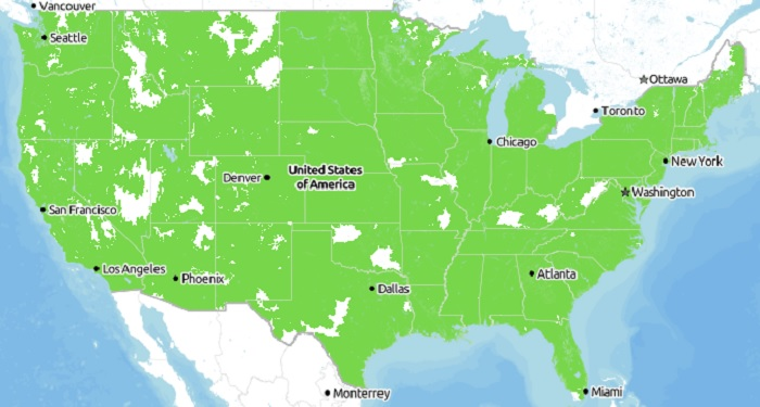 Tracfone Coverage Map