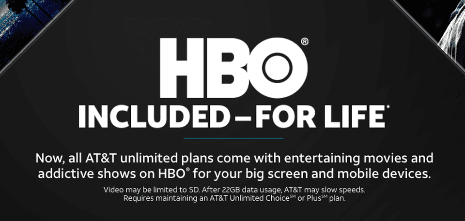 You Can Get HBO with AT&T