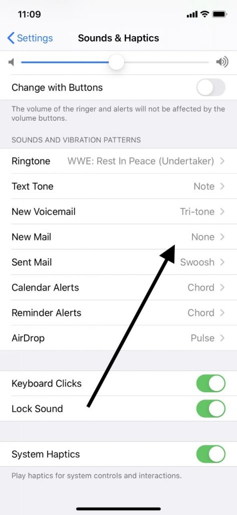 Your iPhone's New Mail Setting