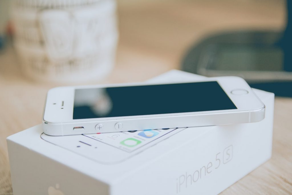 iPhone 5S with Box