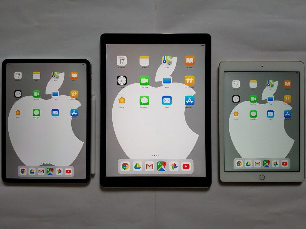 Different iPad Models