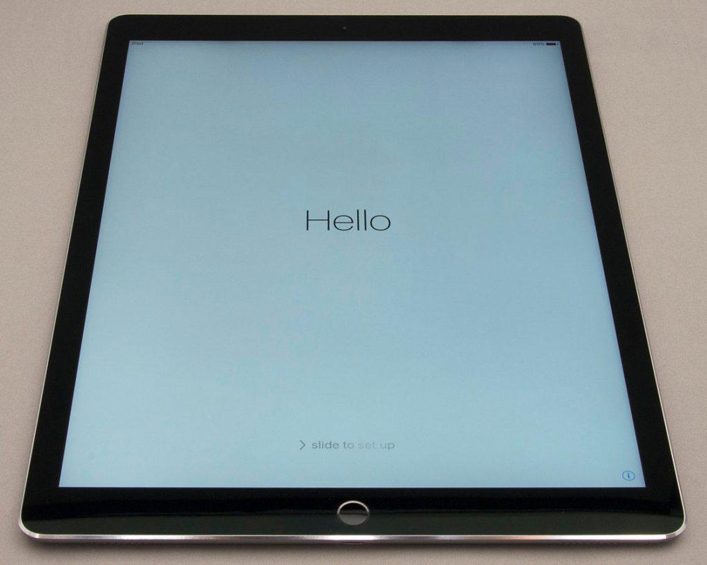 iPad Pro Home screen
