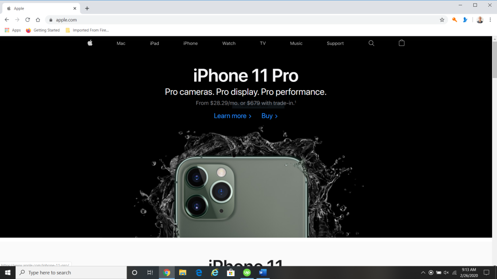 Buy Refurbished from the Apple Website