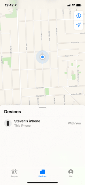 The Find My iPhone Feature